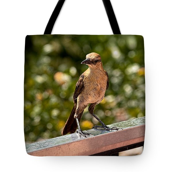 On The Rail Tote Bag by Christopher Holmes