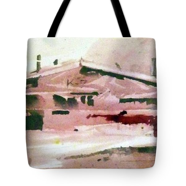 On The Ranch Tote Bag by Ed Heaton