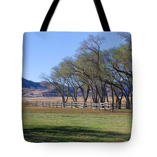 Tote Bag featuring the photograph On The Ranch by Ely Arsha
