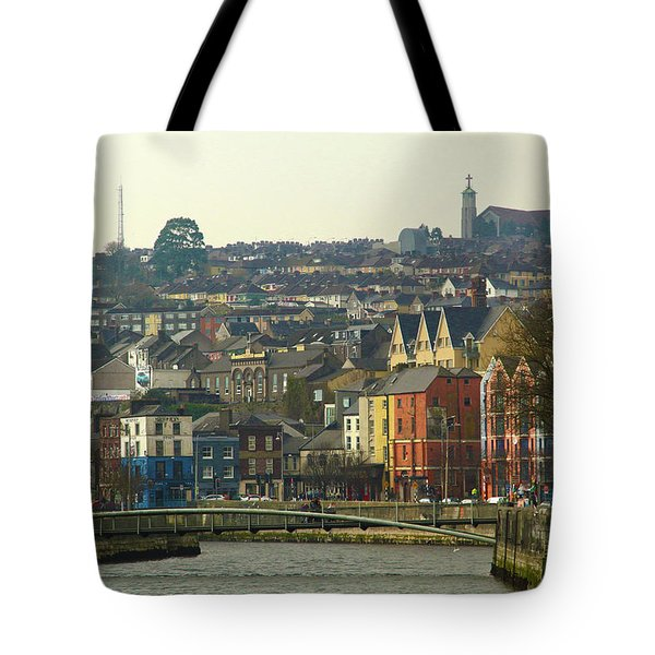 On The River Lee, Cork Ireland Tote Bag