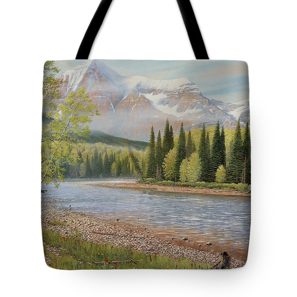 On The Riverside Tote Bag