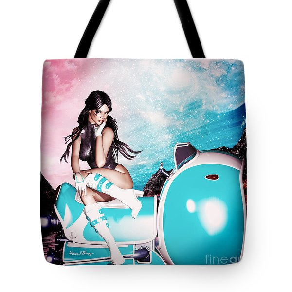 On The Road 3052 Tote Bag