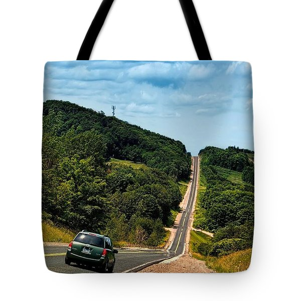 On The Road Again Tote Bag by Jeff S PhotoArt