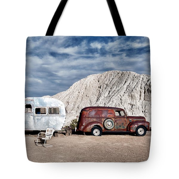 On The Road Again Tote Bag by Renee Sullivan