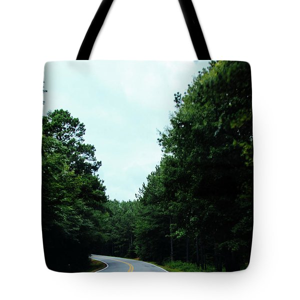 Tote Bag featuring the photograph On The Road by Andrea Anderegg