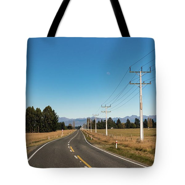 Tote Bag featuring the photograph On The Road by Gary Eason
