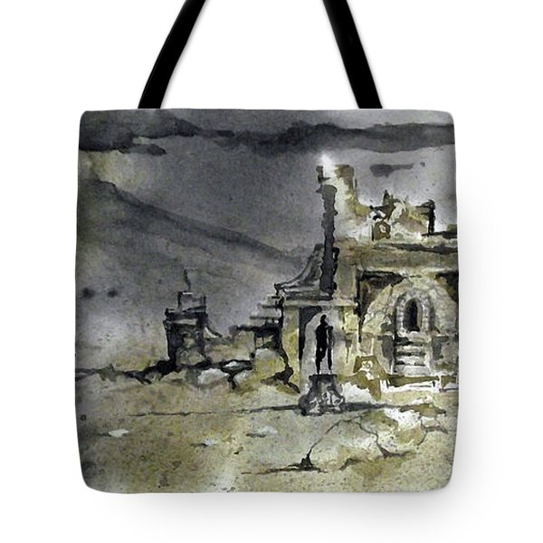 On The Road II Tote Bag