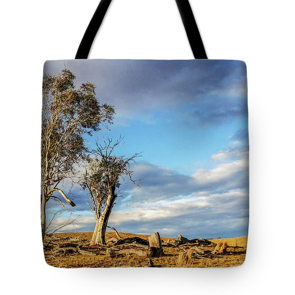 On The Road To Cooma Tote Bag