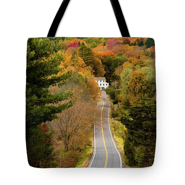 On The Road To New Paltz Tote Bag
