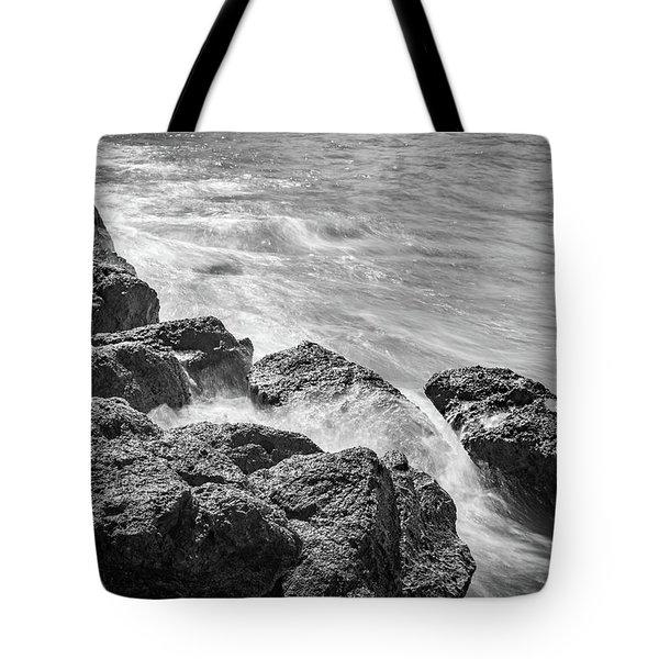 Ocean Rocks Tote Bag