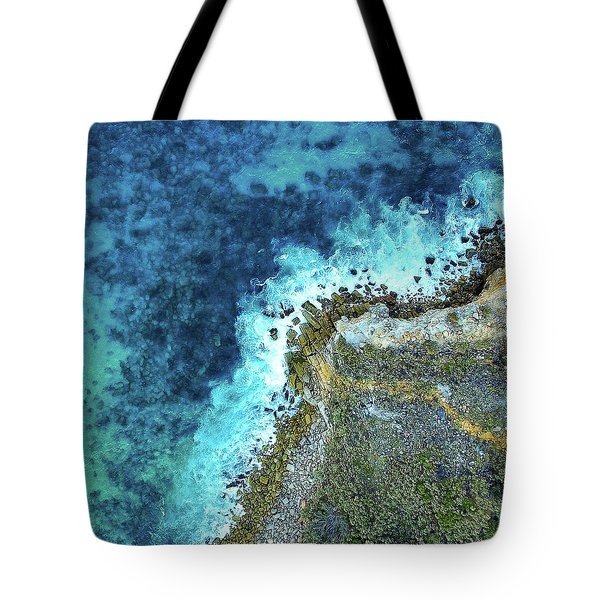 On The Rocks Tote Bag