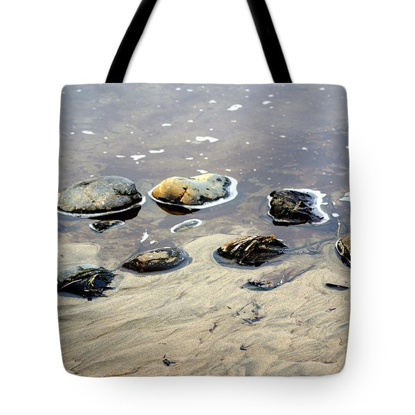 On The Rocks Tote Bag by Marty Koch