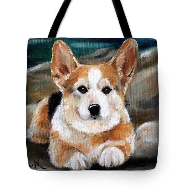 On The Rocks Tote Bag by Mary Sparrow