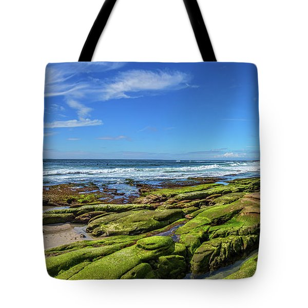 Tote Bag featuring the photograph On The Rocky Coast by Peter Tellone