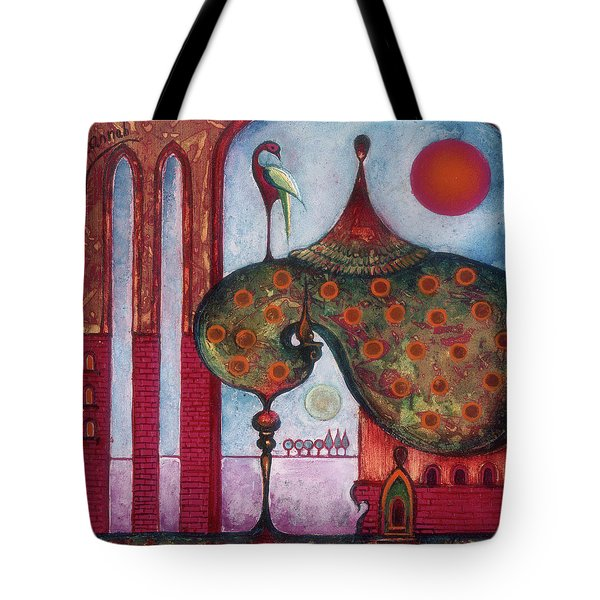 On The Rooftop Of The World Tote Bag
