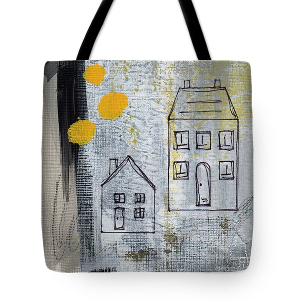 On The Same Street Tote Bag