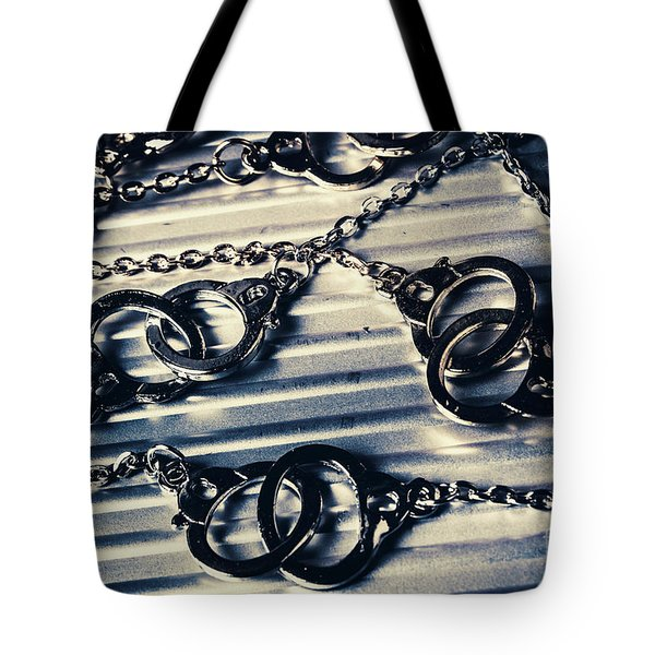 On The Sealed Indictment Case Tote Bag