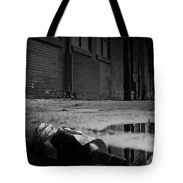On The Seamy Side Of Town Tote Bag