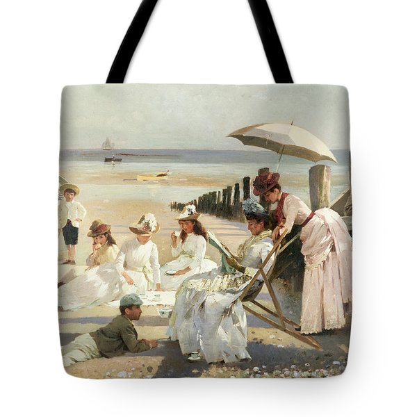 On The Shores Of Bognor Regis Tote Bag