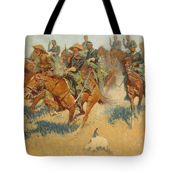 On The Southern Plains, 1907 Tote Bag