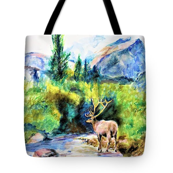 On The Stream Tote Bag