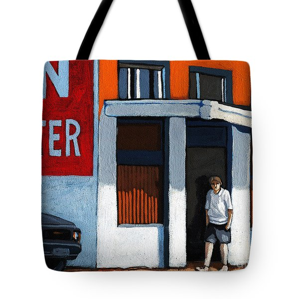 On The Street Tote Bag