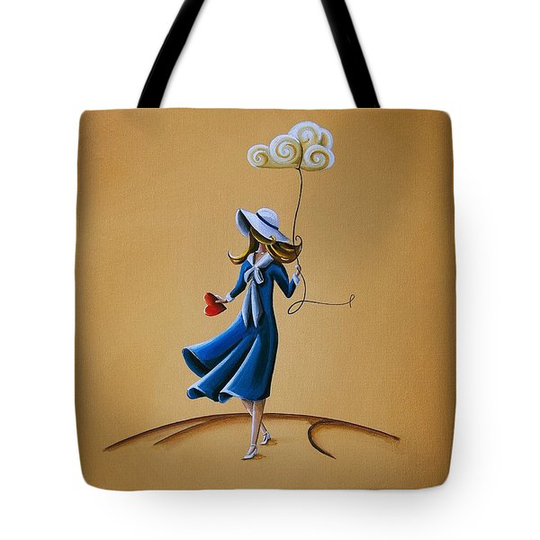 On The Street Where You Live Tote Bag