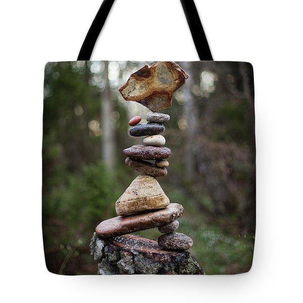 On The Stump Tote Bag