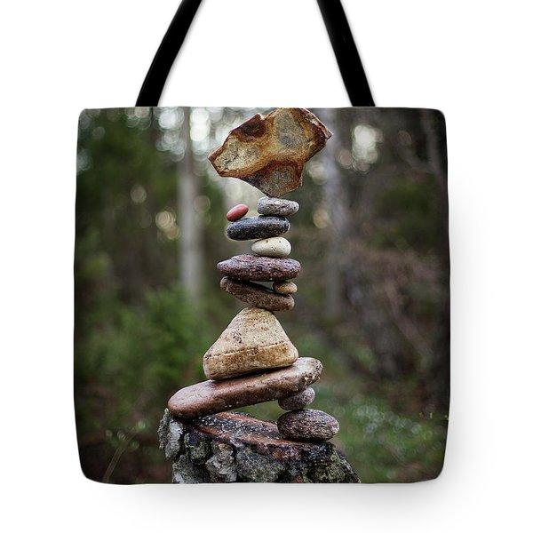 On The Stump Tote Bag