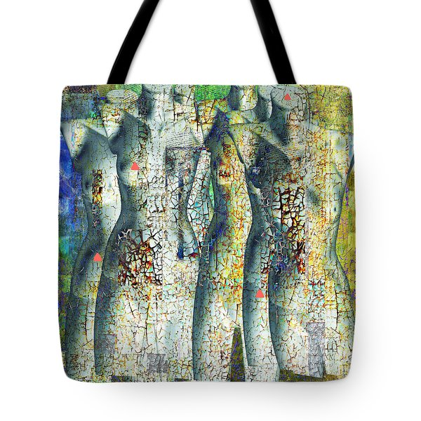 On The Sunny Side Of The Street Tote Bag by Danica Radman