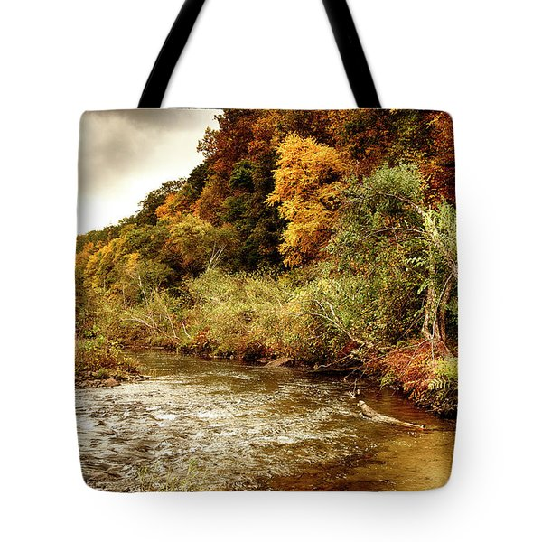 On The Susquehanna Tote Bag by Hugh Smith