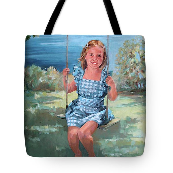 On The Swing Tote Bag