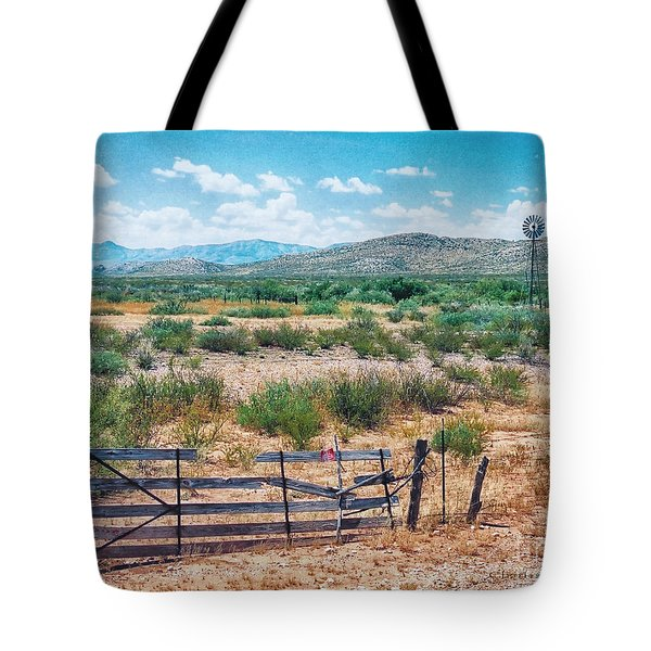Tote Bag featuring the photograph On The Texas Plans by Charles McKelroy