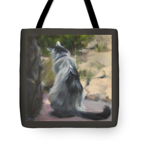 On The Threshold Tote Bag