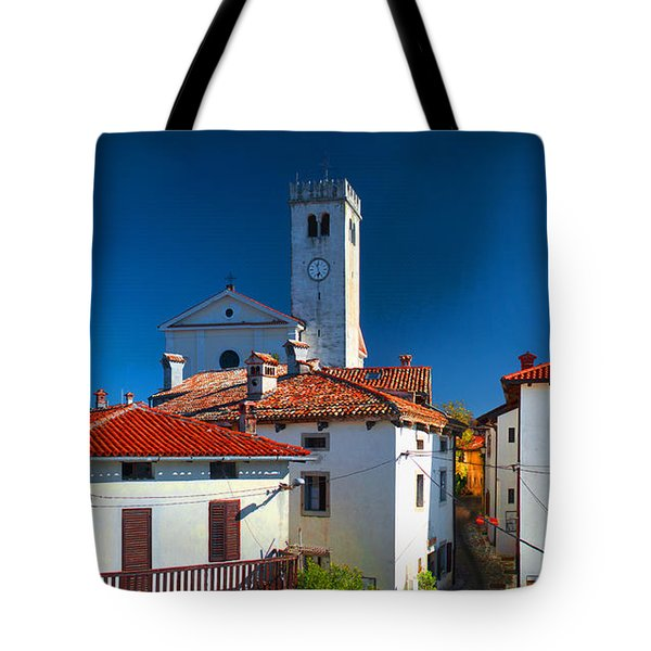 On The Tiles Tote Bag by Graham Hawcroft pixsellpix