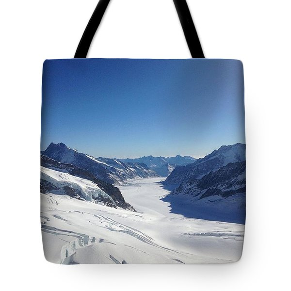 On The Top Of Europe Tote Bag
