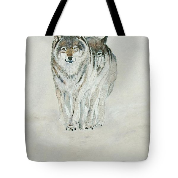 On The Trail. Tote Bag