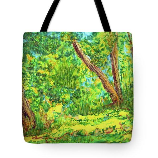 On The Path Tote Bag by Susan D Moody