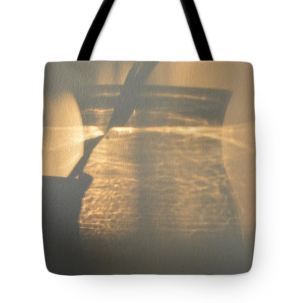 On The Wall  Tote Bag by Lyle Crump
