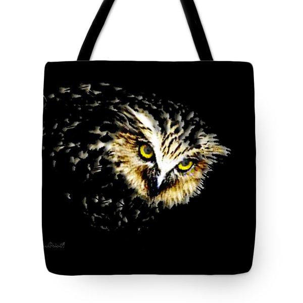 Tote Bag featuring the digital art On The Watch by Asok Mukhopadhyay