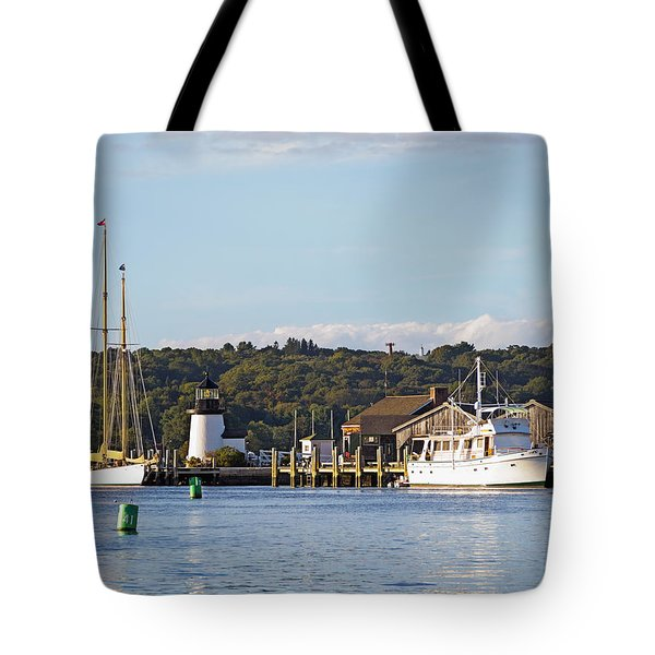 On The Waterfront Mystic Ct Tote Bag