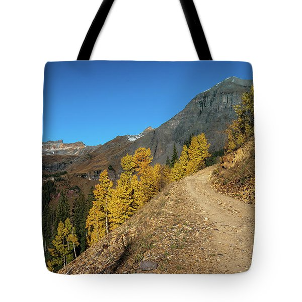 On The Way To Clear Lake In Co - 0056 Tote Bag