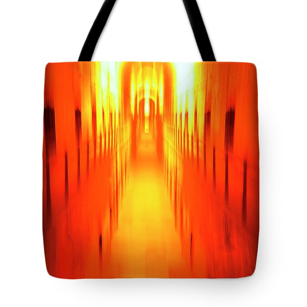 Tote Bag featuring the photograph On The Way To Death Row by Paul W Faust - Impressions of Light