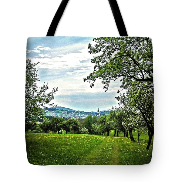 On The Way To Gramastetten ... Tote Bag