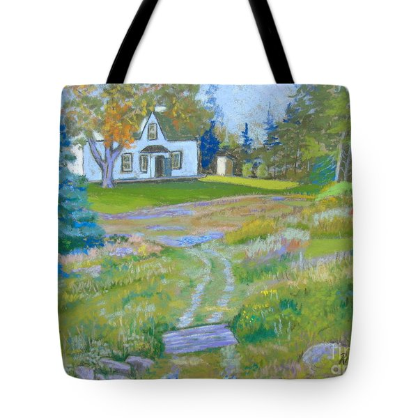 on the Way to Grandma's House Tote Bag
