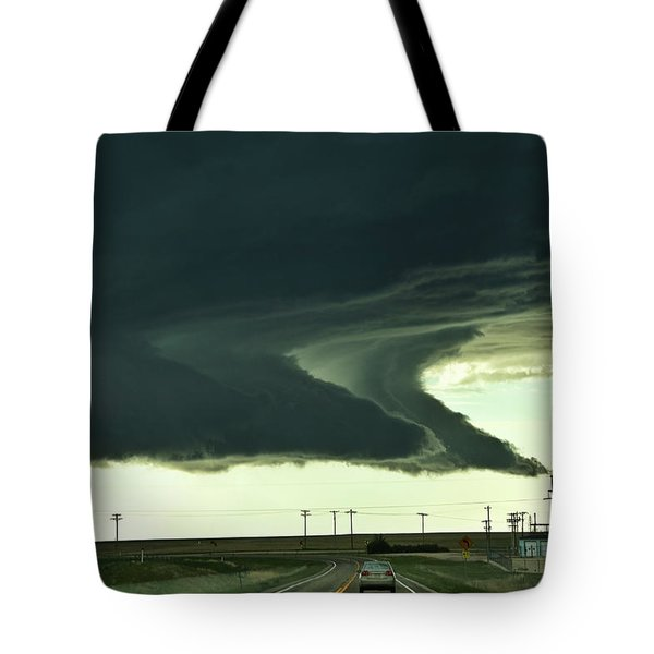 On The Way To The Akron Co Beast Tote Bag