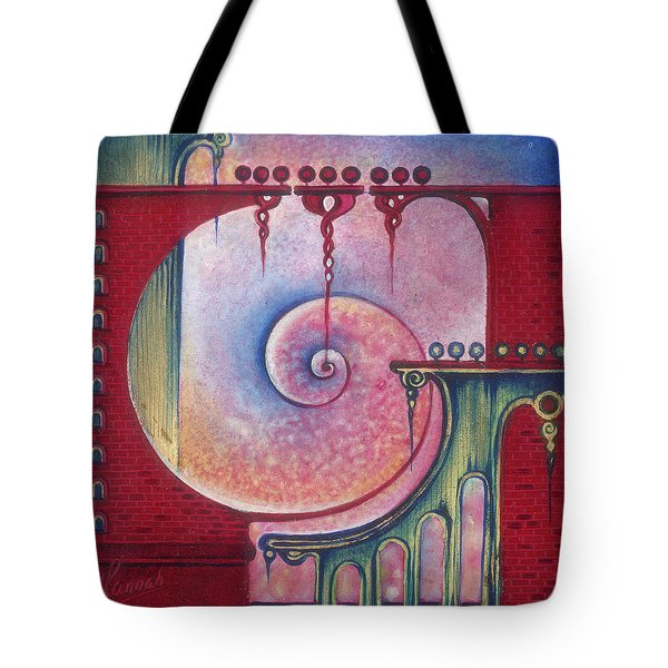 On The Way To The Treasury Tote Bag by Anna Ewa Miarczynska