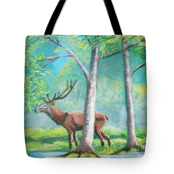 On The Wild Tote Bag