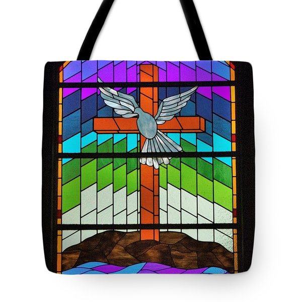 On The Wings Tote Bag by John Glass