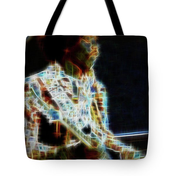 On The Wings Of Dragonflies Tote Bag